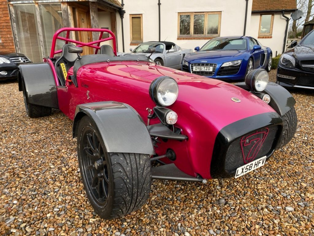 Caterham Seven Convertible 1.8 Superlight R500 S3 2dr