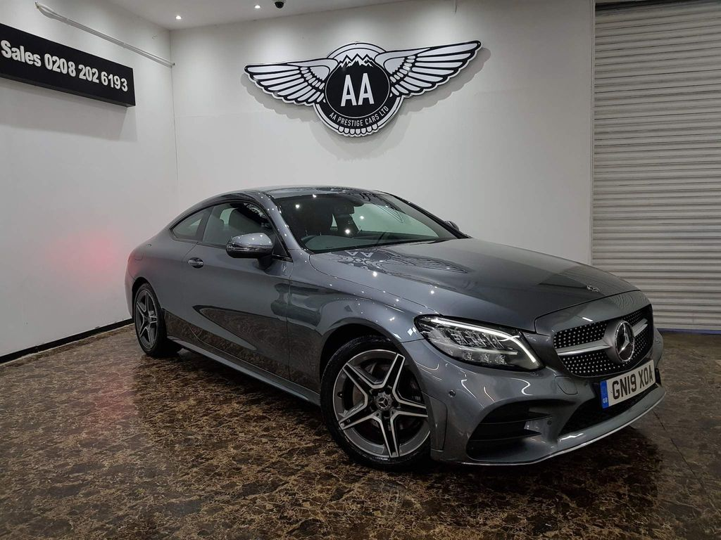 Mercedes-Benz C Class Coupe 1.5 C200 EQ Boost AMG Line G-Tronic+ (s/s) 2dr