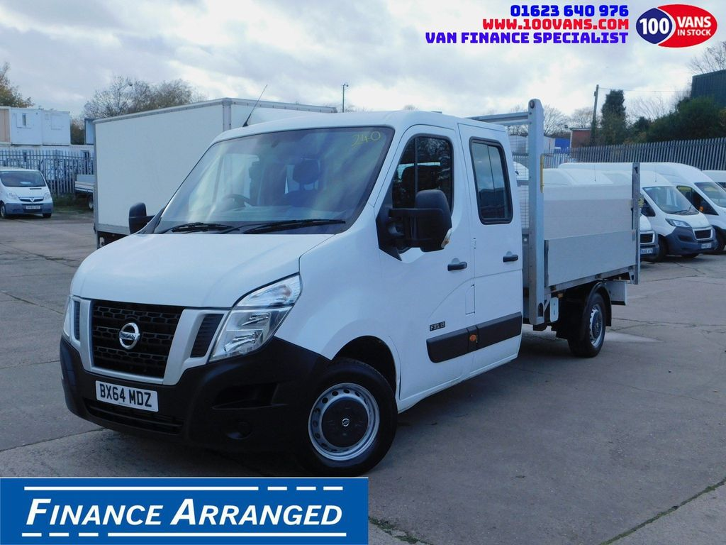 Nissan NV400 Chassis Cab SOLD SOLD SOLD