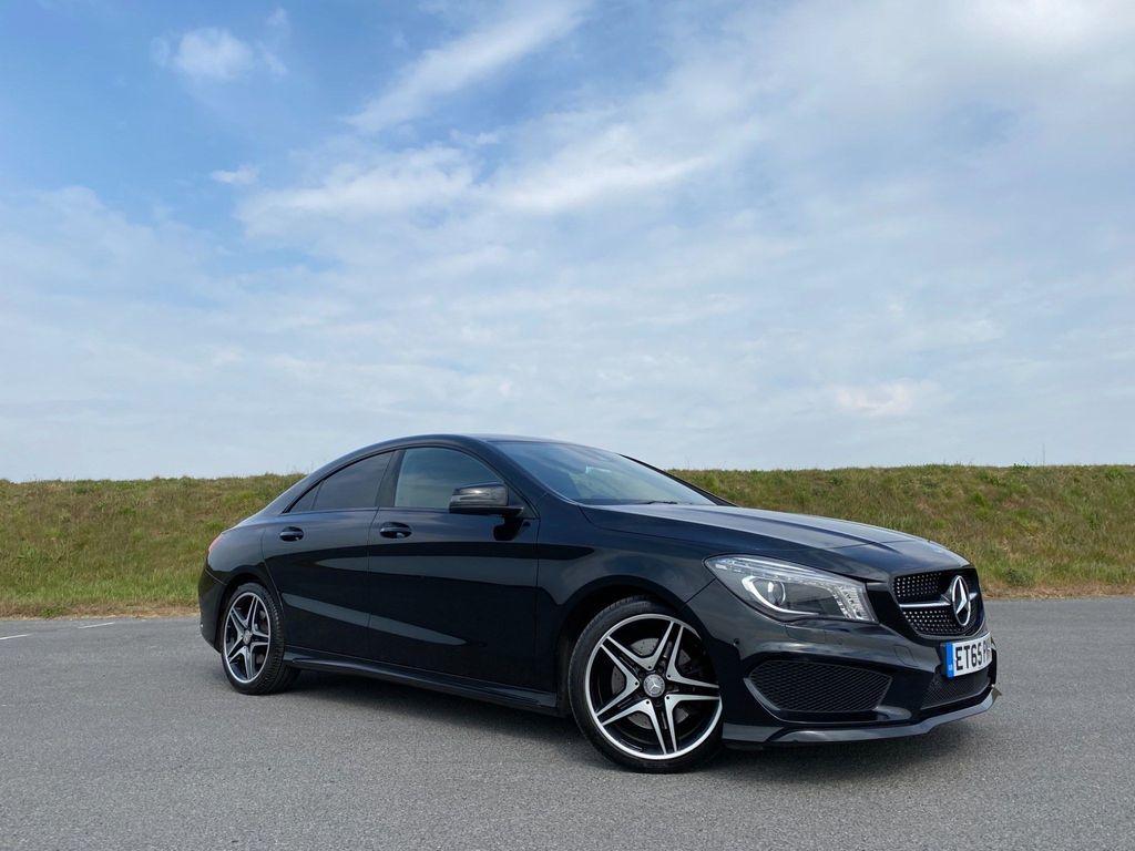 Mercedes-Benz CLA Class Coupe 2.1 CLA220 CDI AMG Sport 7G-DCT 4MATIC (s/s) 4dr