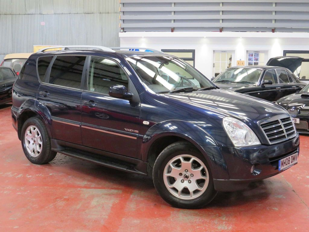 SsangYong Rexton SUV 2.7 TD SPR T-Tronic 4x4 5dr