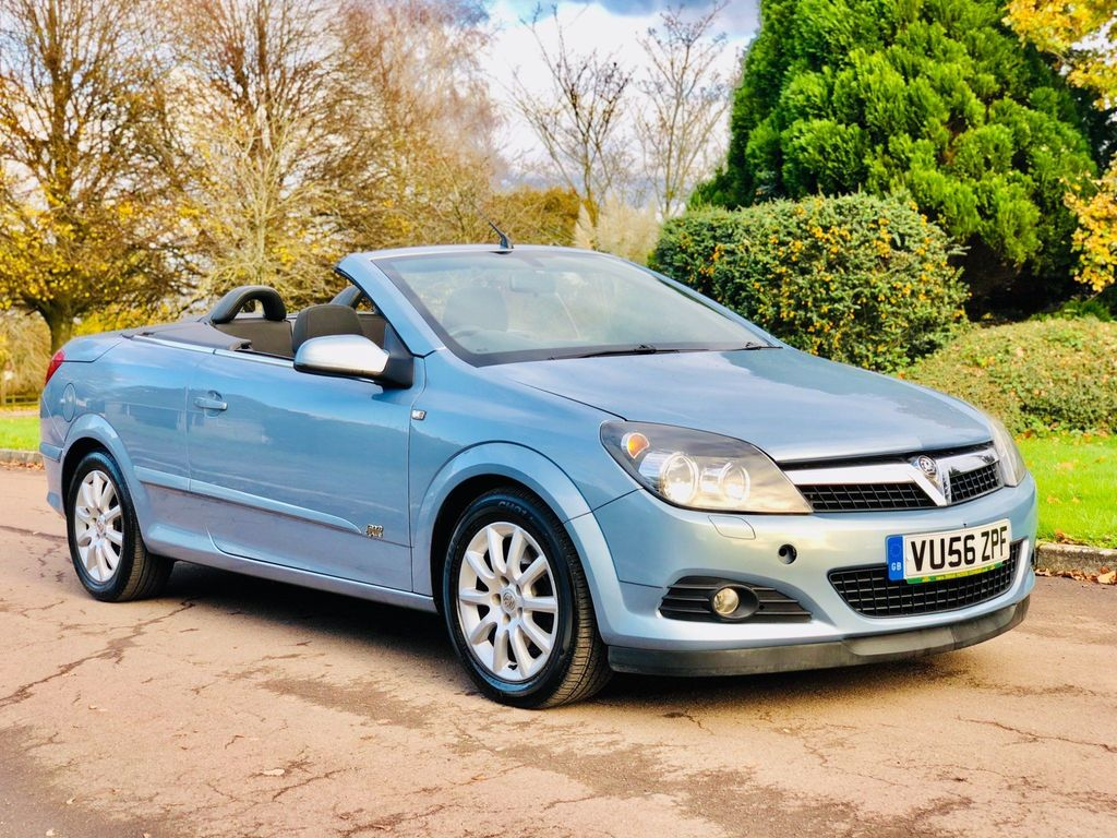 Vauxhall Astra Convertible 1.9 TD 16v Sport Twin Top 2dr