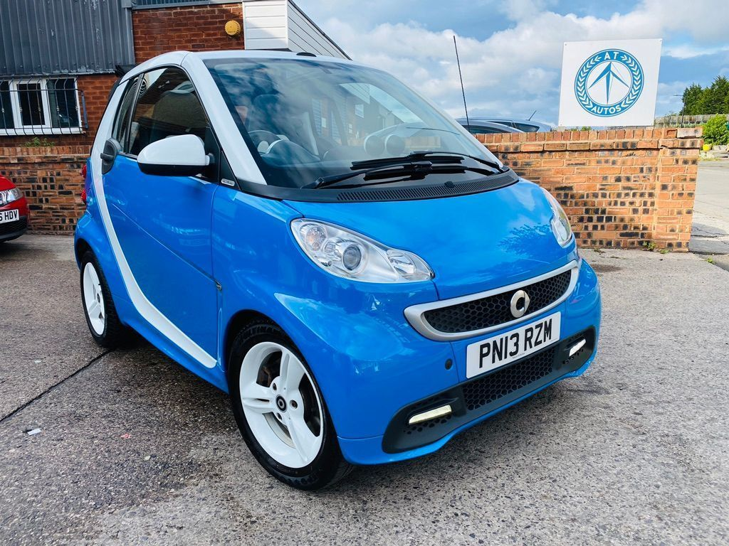 Smart fortwo Convertible 1.0 MHD Iceshine Cabriolet Softouch 2dr