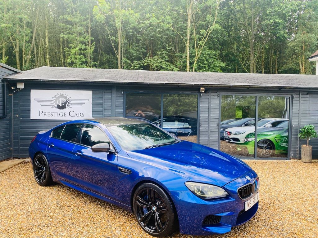 BMW M6 Gran Coupe Saloon 4.4 V8 Gran Coupe M DCT 4dr