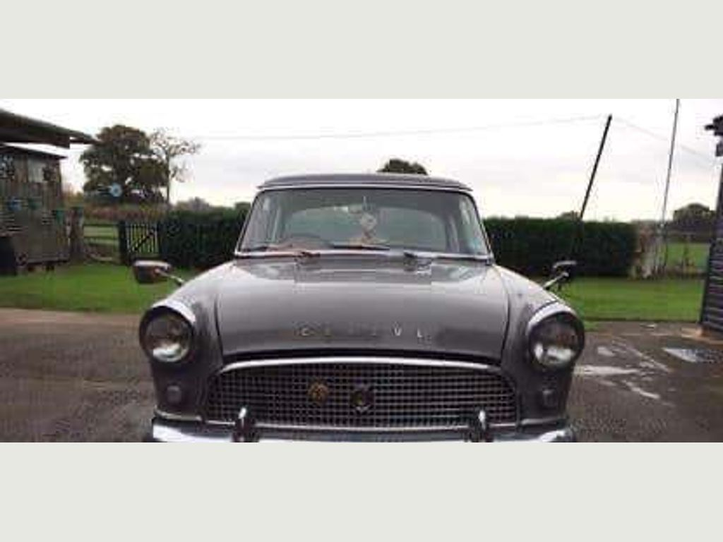 Ford Consul Unlisted