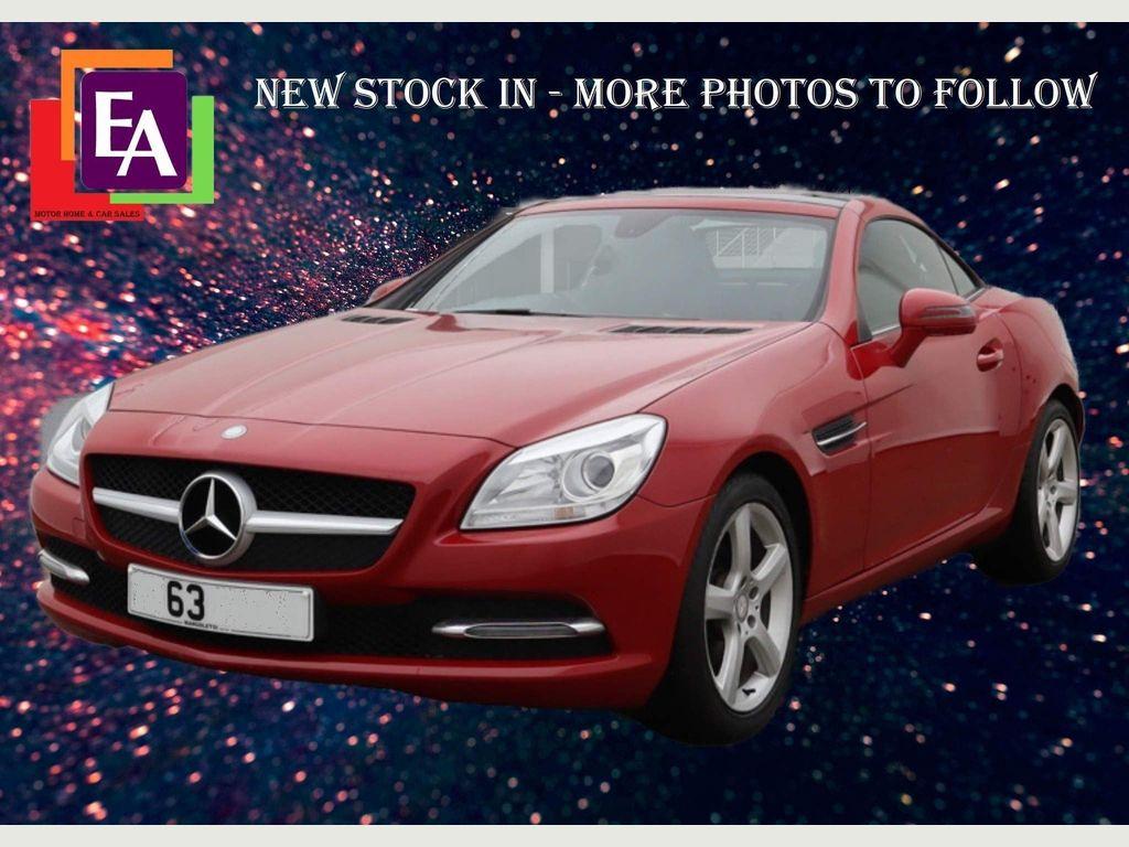 Mercedes-Benz SLK Convertible 1.8 SLK200 BlueEFFICIENCY 7G-Tronic Plus (s/s) 2dr