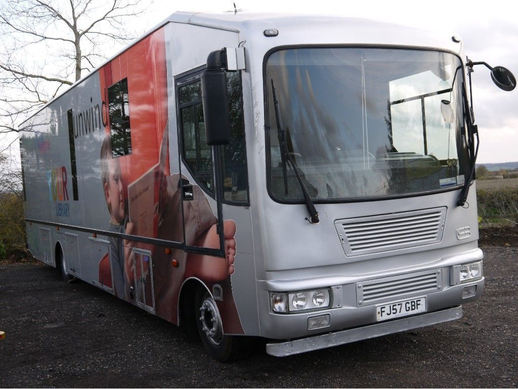Iveco EUROCARGO ML 140E22 Coach Built IVECO MOBILE LIBRARY EXHIBITION SHOW SHOP MOTORHOME LIVE IN CAMPER RV BUS VAN !!
