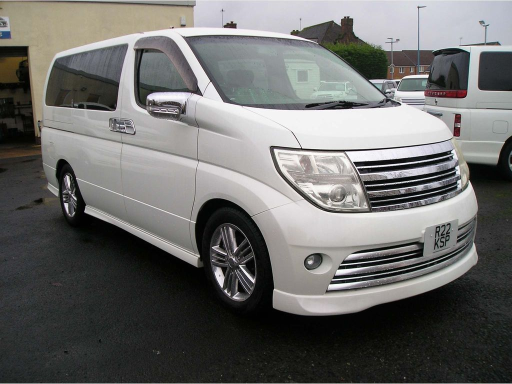 Nissan Elgrand MPV 2.5 Rider S, Registered and ready to go
