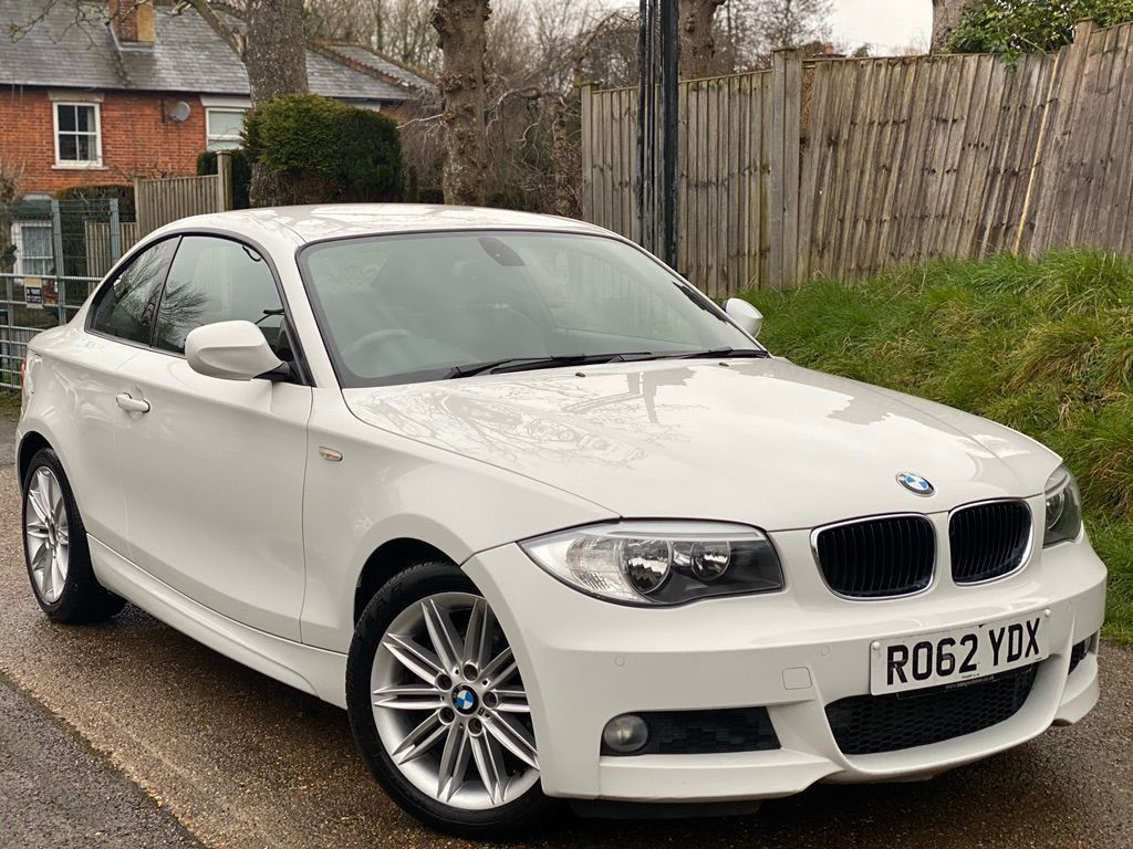 BMW 1 Series Coupe 2.0 120d M Sport 2dr