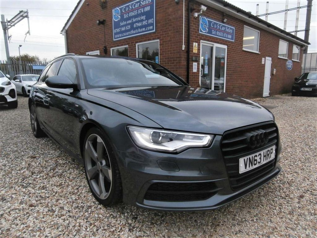 Audi A6 Avant Estate 2.0 TDI Black Edition 5dr