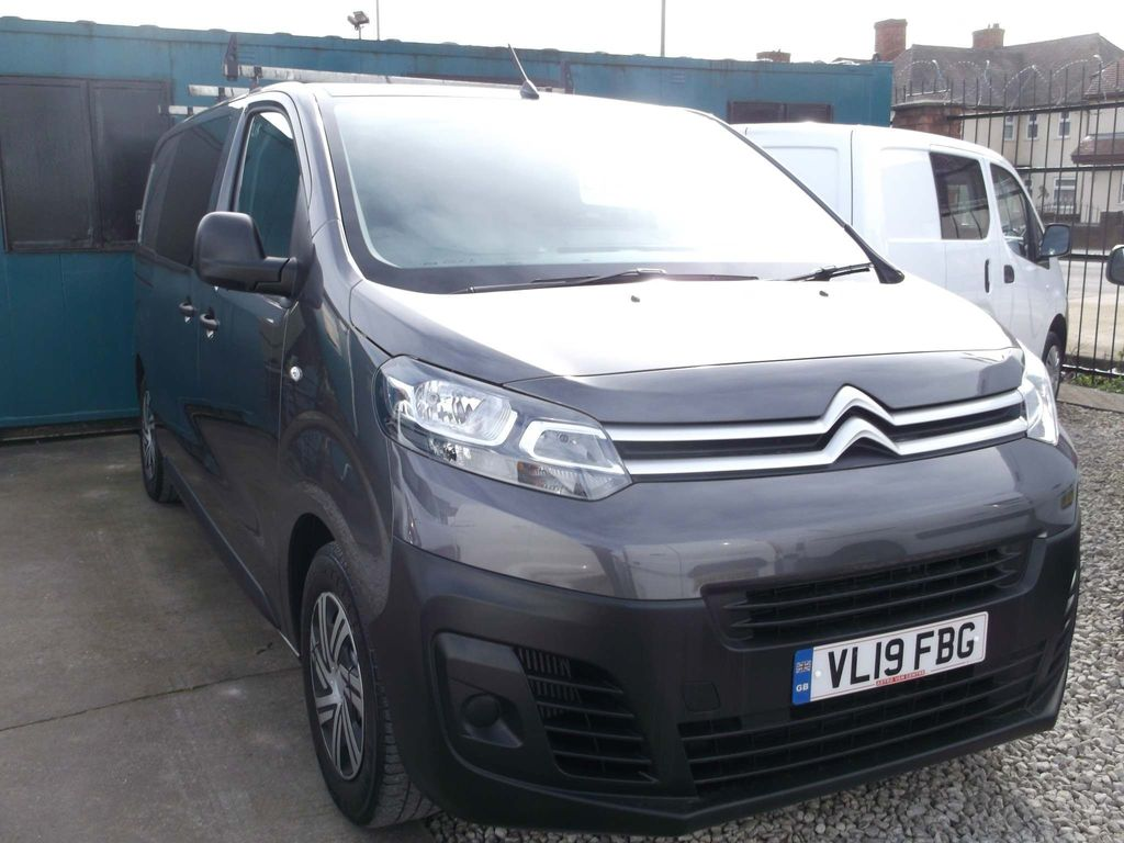 Citroen Dispatch Combi Van 1.5dci Euro 6.2 6 Seater Crew Van 100ps