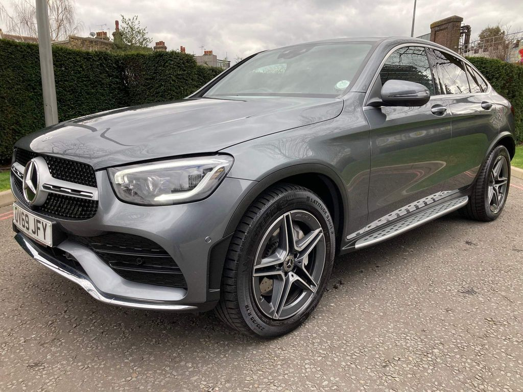 Mercedes-Benz GLC Class Coupe 2.0 GLC300 AMG Line (Premium Plus) G-Tronic+ 4MATIC (s/s) 5dr