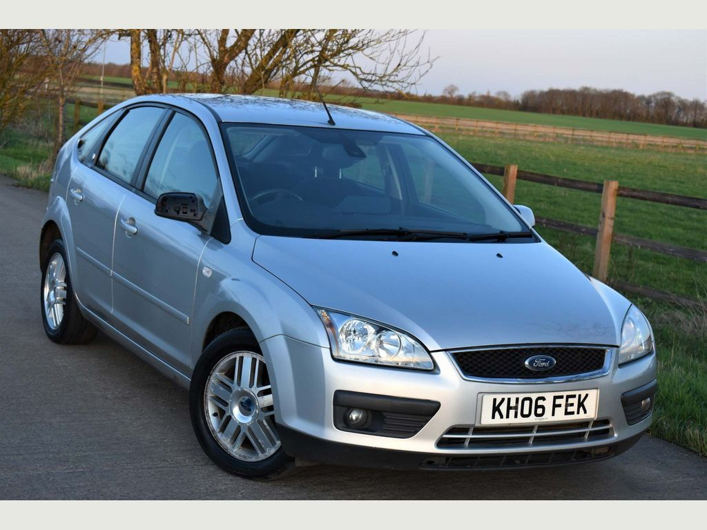 Ford Focus Hatchback 1.8 TDCi Ghia 5dr