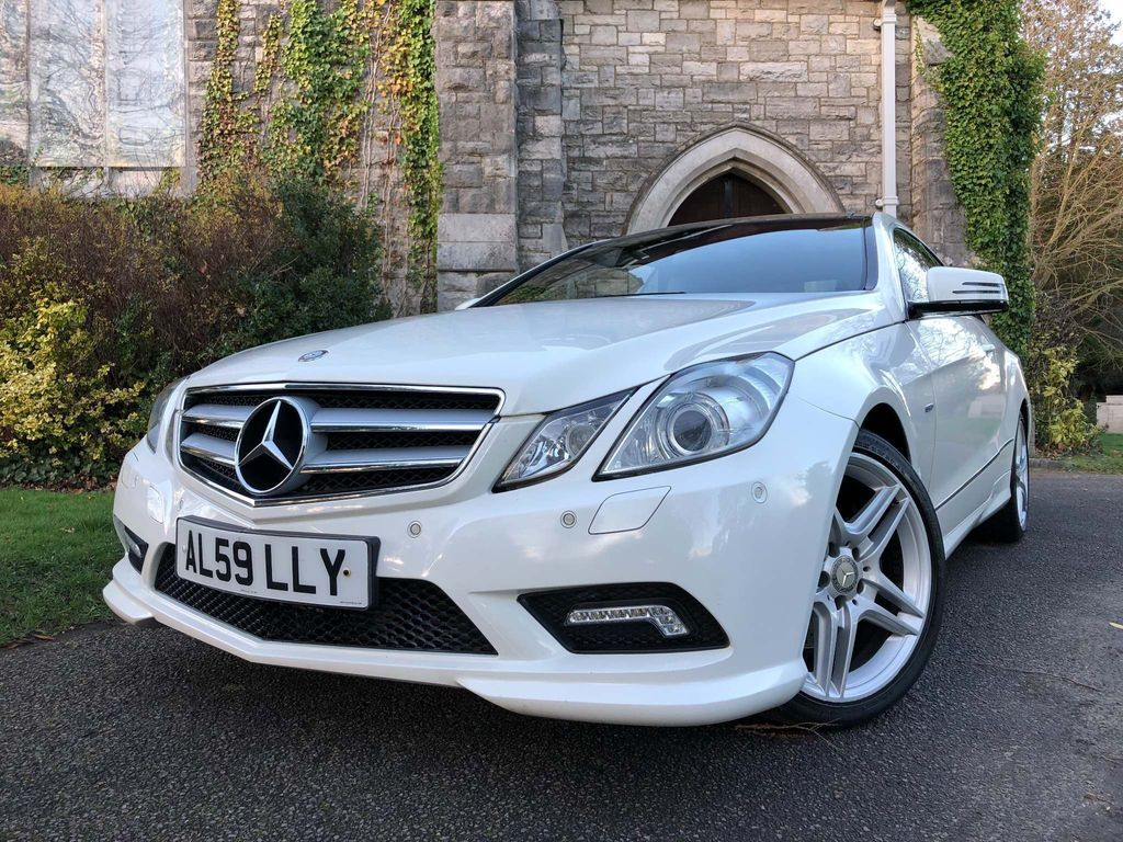 Mercedes-Benz E Class Coupe 2.1 E220 CDI BlueEFFICIENCY Sport 2dr