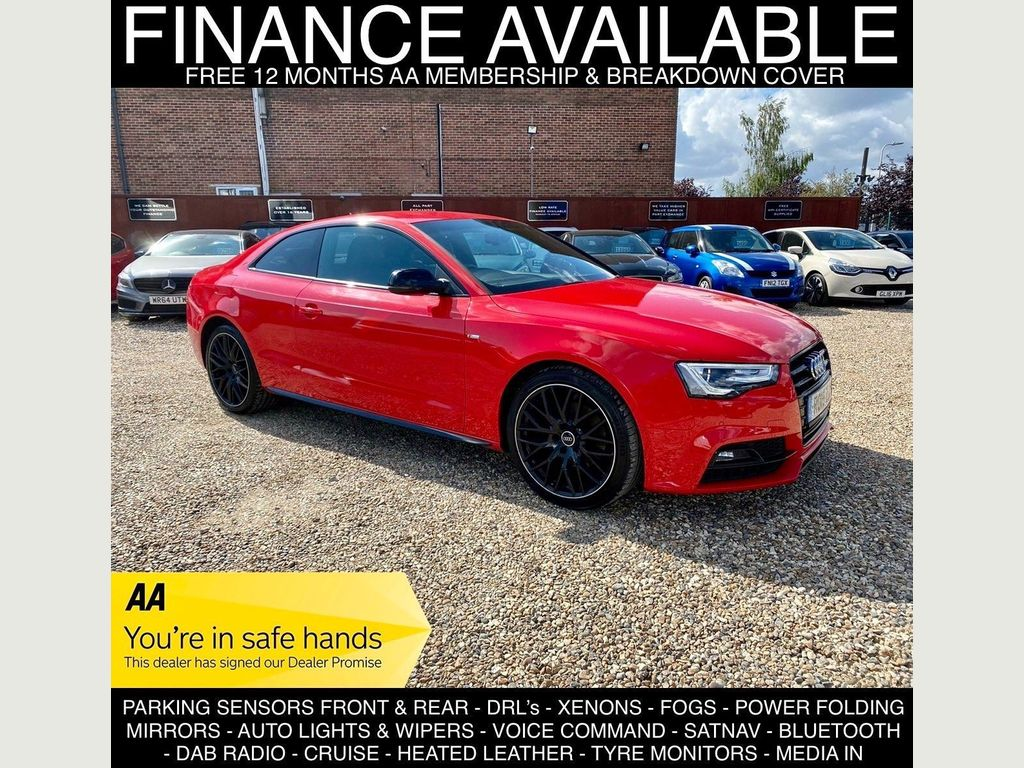 Audi A5 Coupe 2.0 TDI Black Edition Plus 2dr