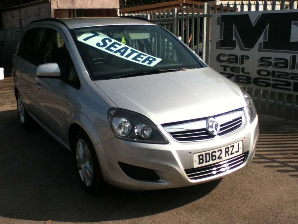 Vauxhall Zafira MPV 1.7 CDTi ecoFLEX 16v Exclusiv 5dr (nav)