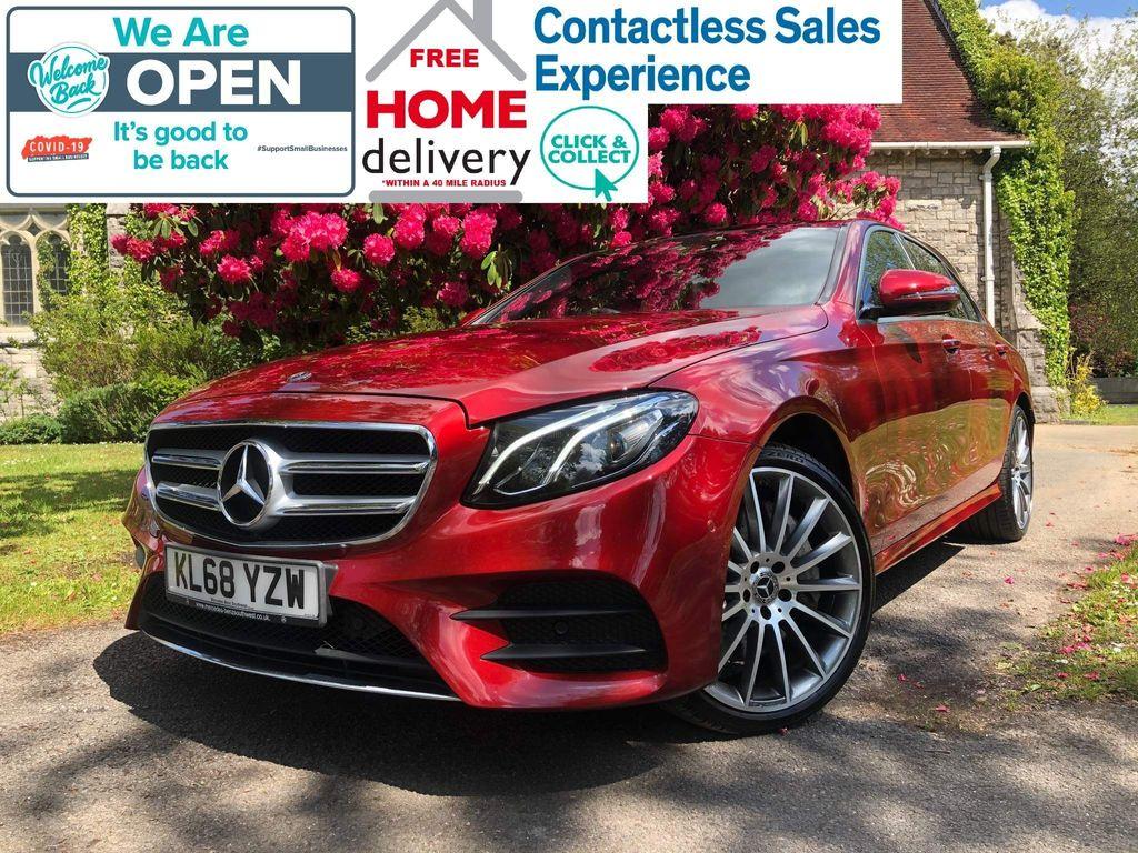 Mercedes-Benz E Class Saloon 3.0 E400d AMG Line (Premium) G-Tronic+ 4MATIC (s/s) 4dr