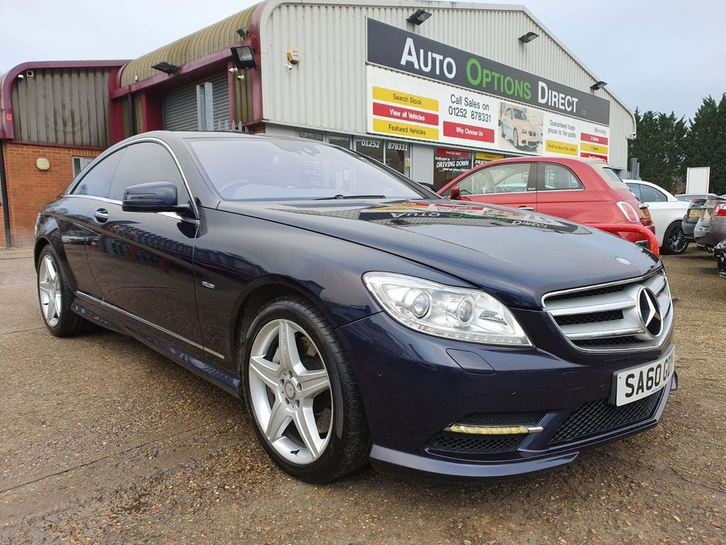 Mercedes-Benz CL Coupe 4.7 CL500 BlueEFFICIENCY 7G-Tronic 2dr