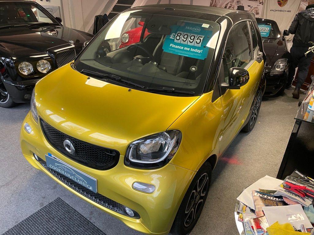 Smart fortwo Convertible 0.9T Prime (Premium Plus) Cabriolet (s/s) 2dr