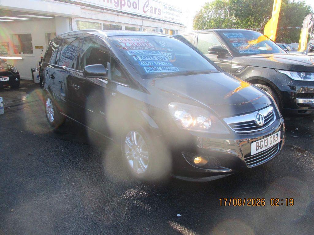 Vauxhall Zafira MPV 1.7 CDTi Design 5dr (nav)