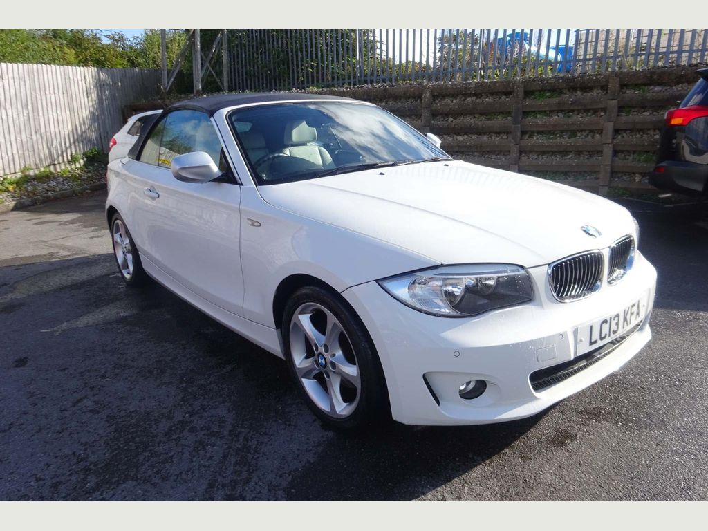 BMW 1 Series Convertible 2.0 120d Exclusive Edition Auto 2dr