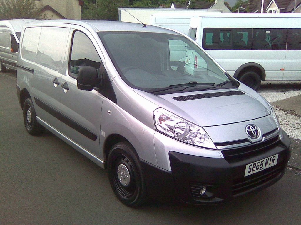 Toyota ProAce Panel Van 1.6 HDi 1200 L1H1 5dr