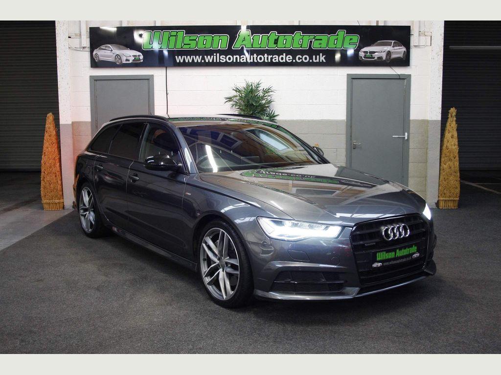 Audi A6 Avant Estate 3.0 BiTDI V6 Black Edition Avant Tiptronic quattro (s/s) 5dr