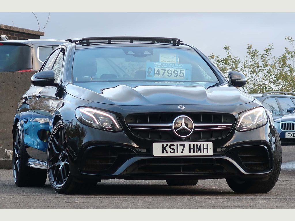 Mercedes-Benz E Class Saloon 4.0 E63 BiTurbo V8 AMG S (Premium) SpdS MCT 4MATIC+ (s/s) 4dr