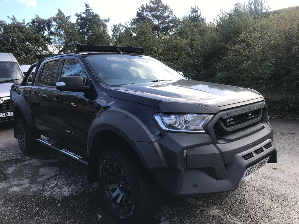 Ford Ranger Pickup 3.2 M SPORT MSRT DOUBLE CAB AUTOMATIC
