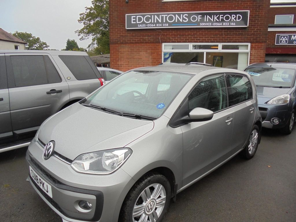 Volkswagen up! Hatchback 1.0 High up! ASG (s/s) 5dr
