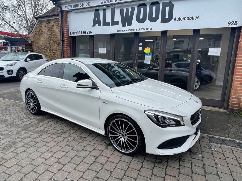 Mercedes-Benz CLA Class Coupe 2.0 CLA250 AMG 7G-DCT (s/s) 4dr