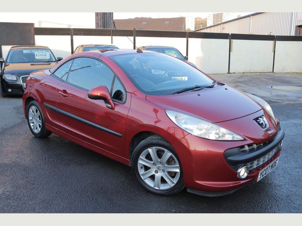 Peugeot 207 CC Convertible 1.6 16v Sport 2dr