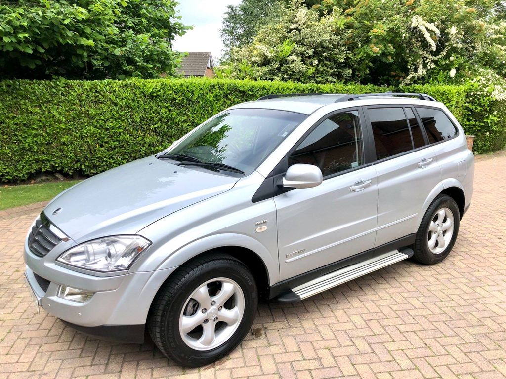 SsangYong Kyron SUV 2.7 TD SPR 5dr