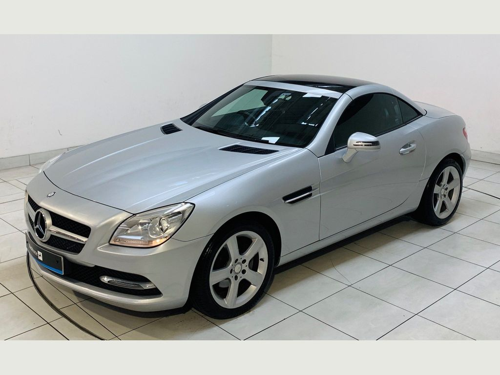 Mercedes-Benz SLK Convertible 1.8 SLK200 BlueEFFICIENCY 7G-Tronic Plus (s/s) 2dr