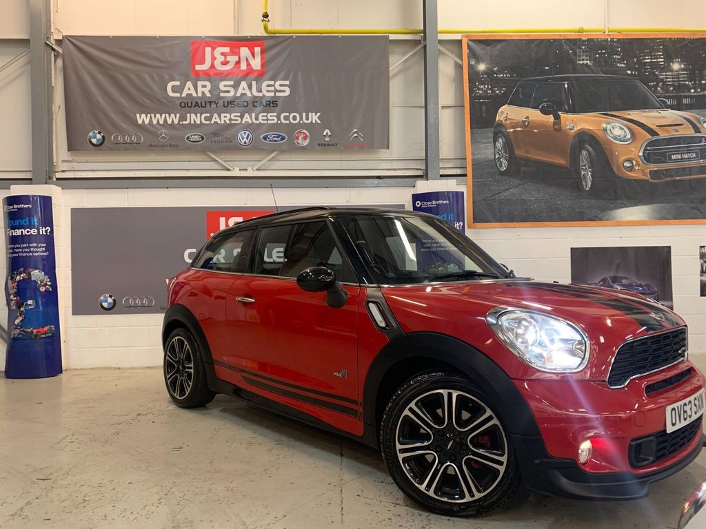 MINI Paceman Hatchback 1.6 John Cooper Works ALL4 3dr