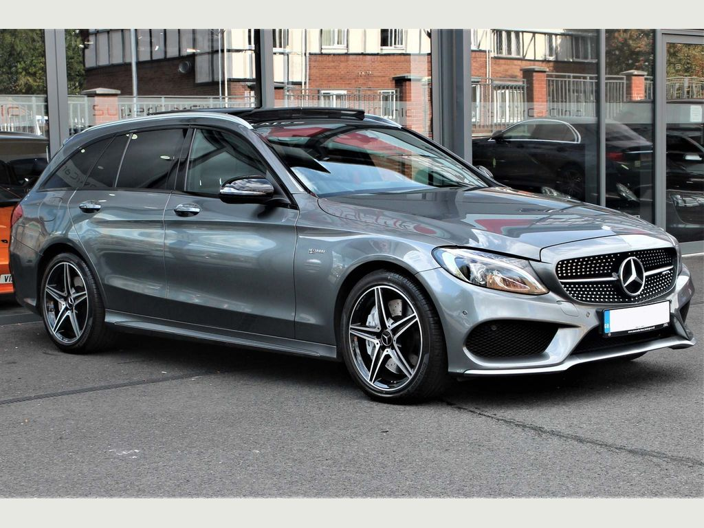 Mercedes-Benz C Class Estate 3.0 C43 V6 AMG (Premium) G-Tronic+ 4MATIC (s/s) 5dr