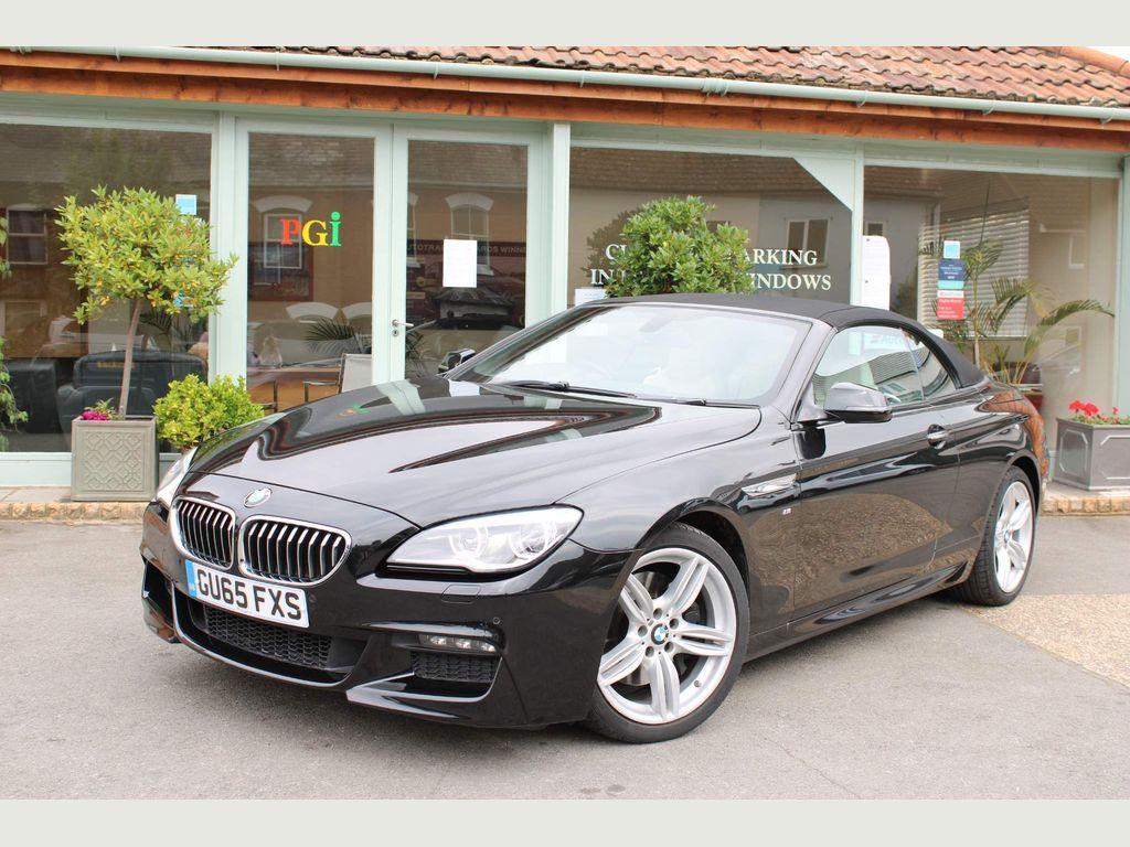 BMW 6 Series Convertible 3.0 640d M Sport Auto (s/s) 2dr