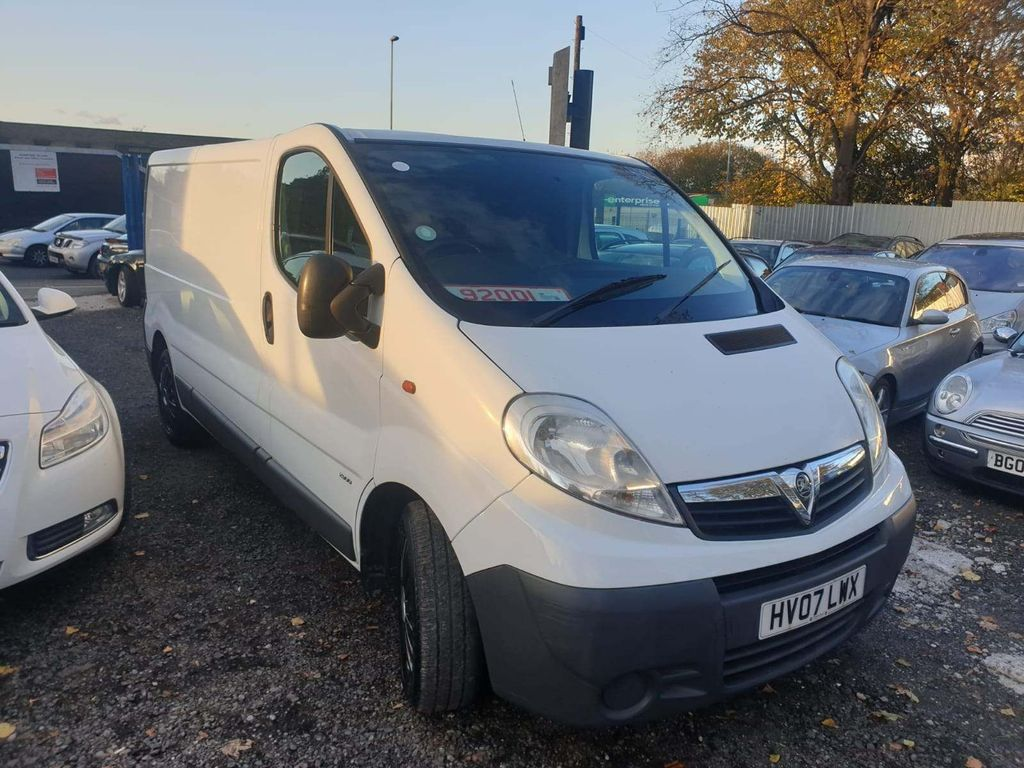 Vauxhall Vivaro Unlisted 2900