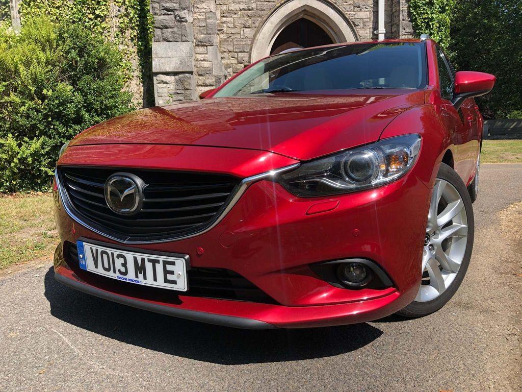 Mazda Mazda6 Estate 2.2 TD SKYACTIV-D Sport Nav Tourer 5dr