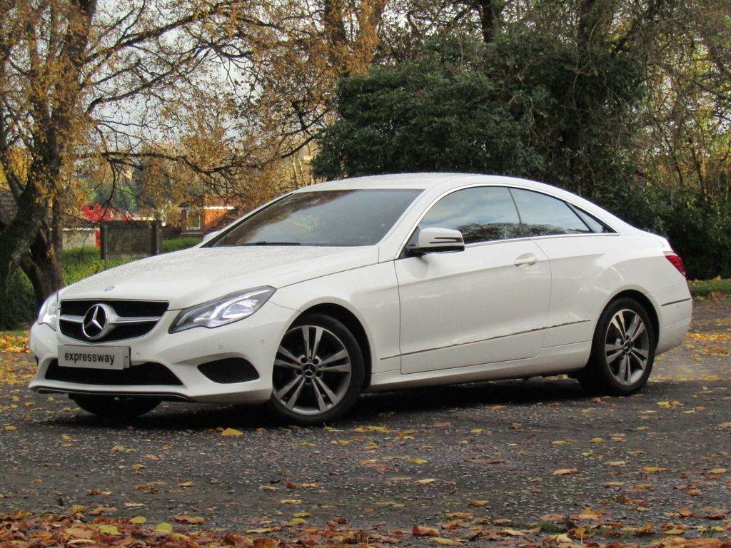 Mercedes-Benz E Class Coupe 2.1 E220 CDI SE 7G-Tronic Plus 2dr