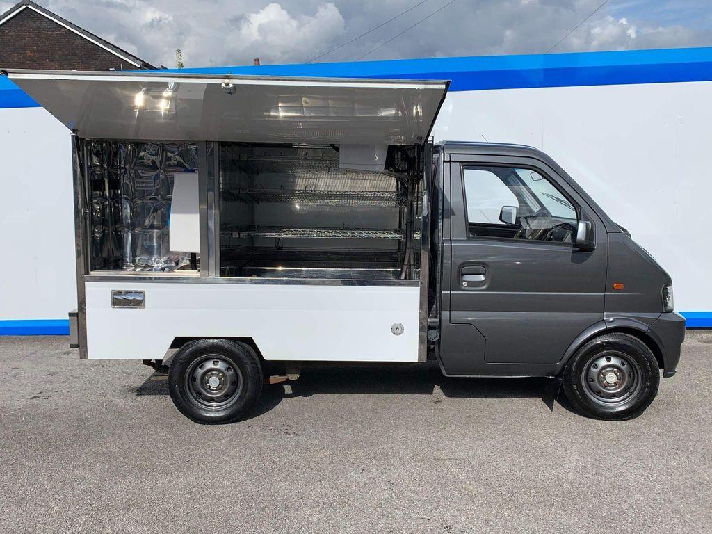 DFSK Loadhopper Box Van Catering Van