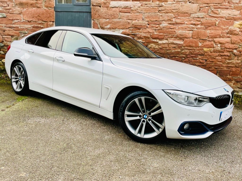 BMW 4 Series Gran Coupe Saloon 2.0 420i Sport Gran Coupe Auto (s/s) 5dr