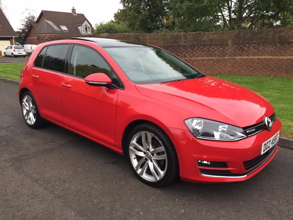 VOLKSWAGEN GOLF Hatchback 1.6 TDI BlueMotion Tech GT (s/s) 5dr