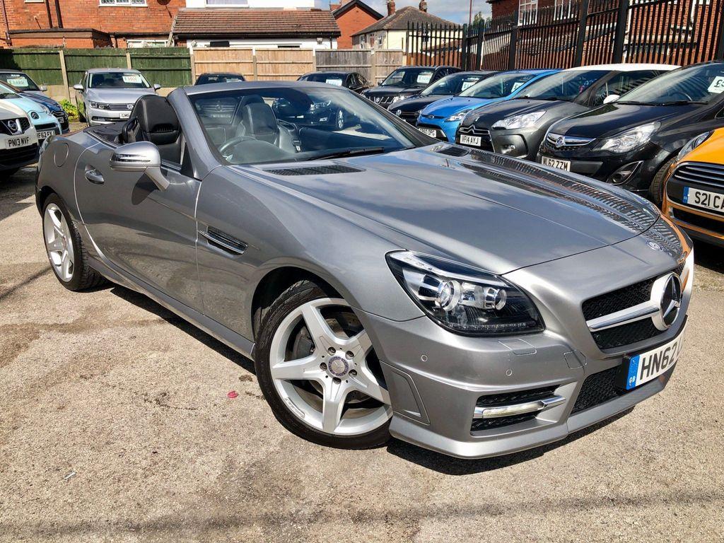 Mercedes-Benz SLK Convertible 1.8 SLK250 BlueEFFICIENCY AMG Sport 7G-Tronic Plus (s/s) 2dr