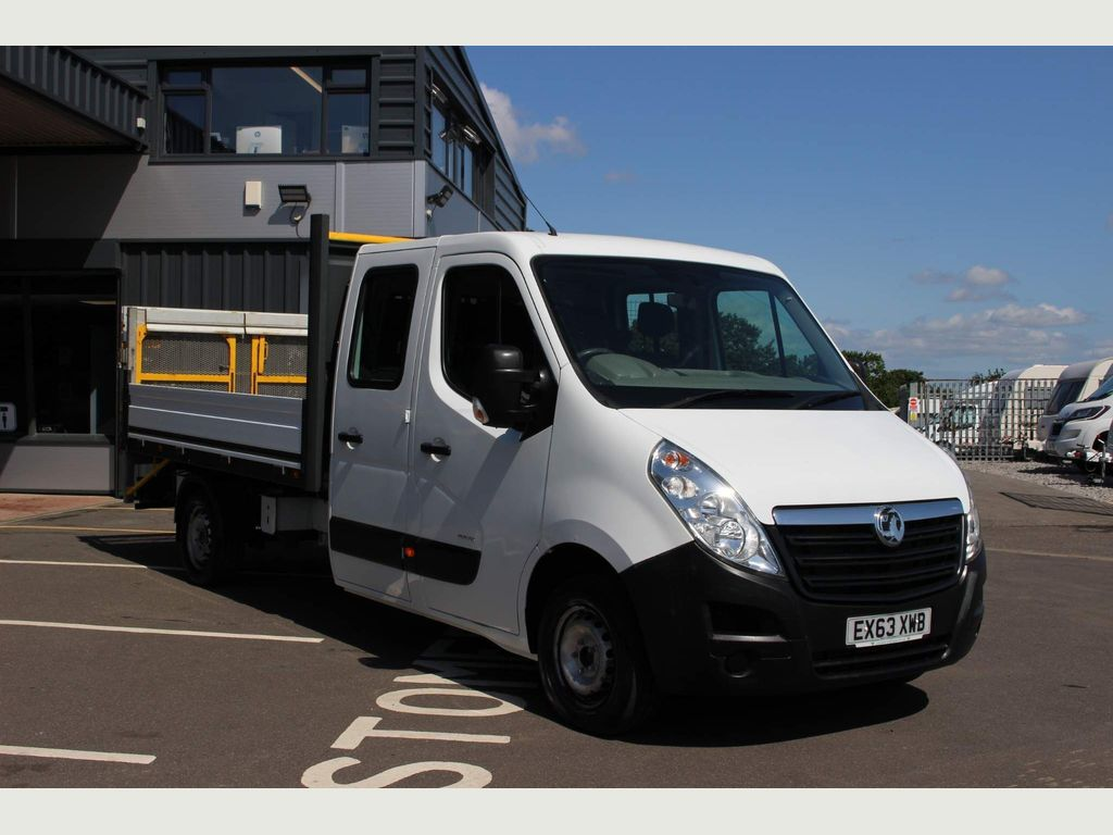 Vauxhall Unlisted Dropside Double Cab Pick Up 7 Seater Tail Lift