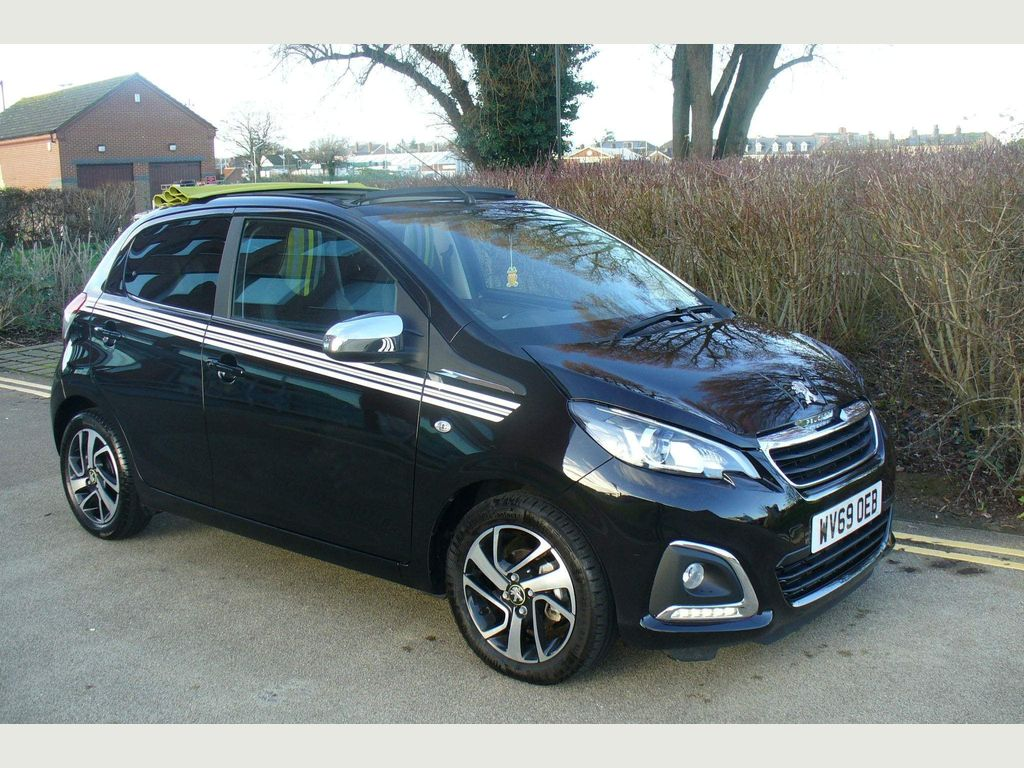 Peugeot 108 Convertible 1.0 Collection Top! 2 Tronic (s/s) 5dr