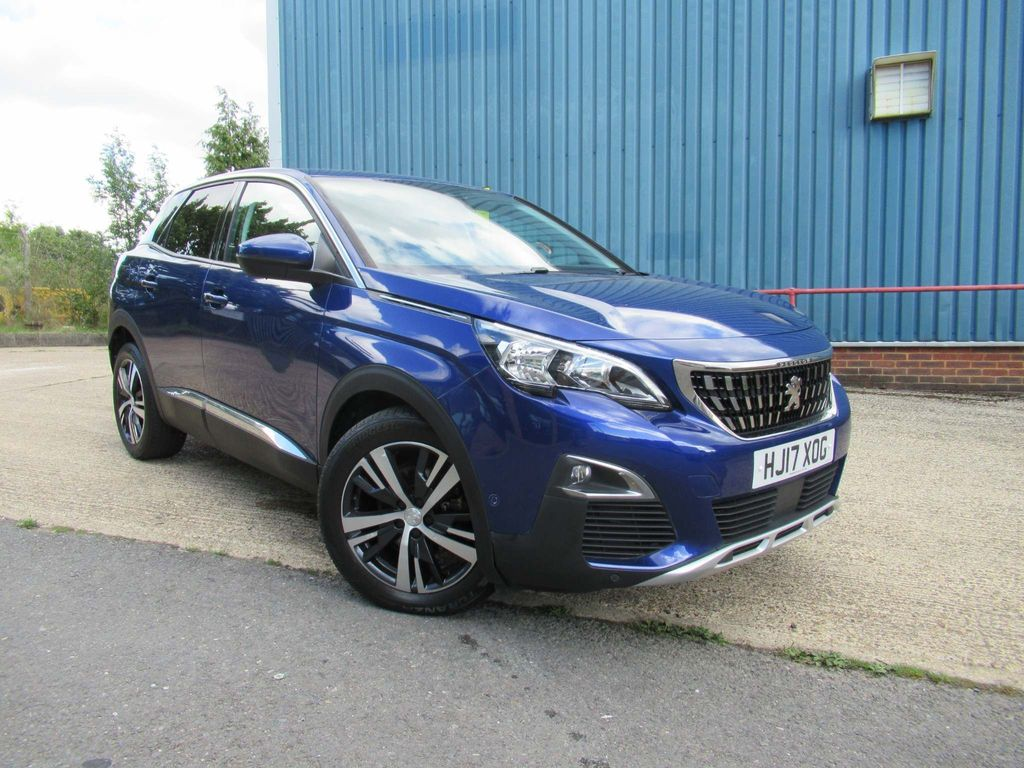 Peugeot 3008 SUV 1.6 BlueHDi Allure EAT (s/s) 5dr