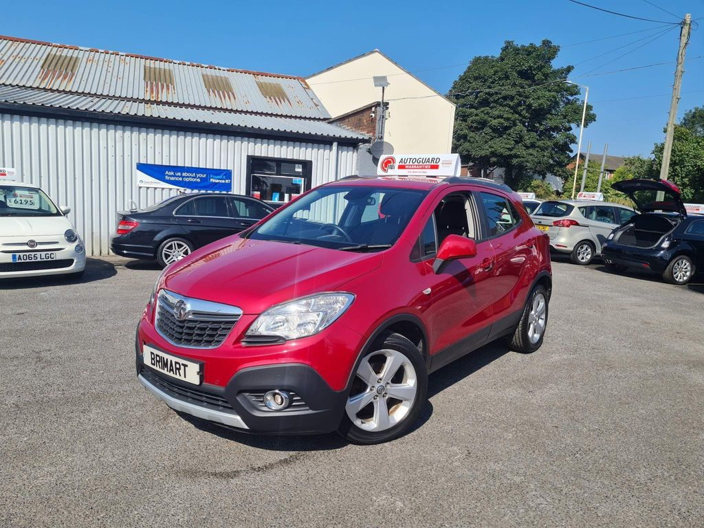 Vauxhall Mokka SUV 1.6 Exclusiv 2WD (s/s) 5dr