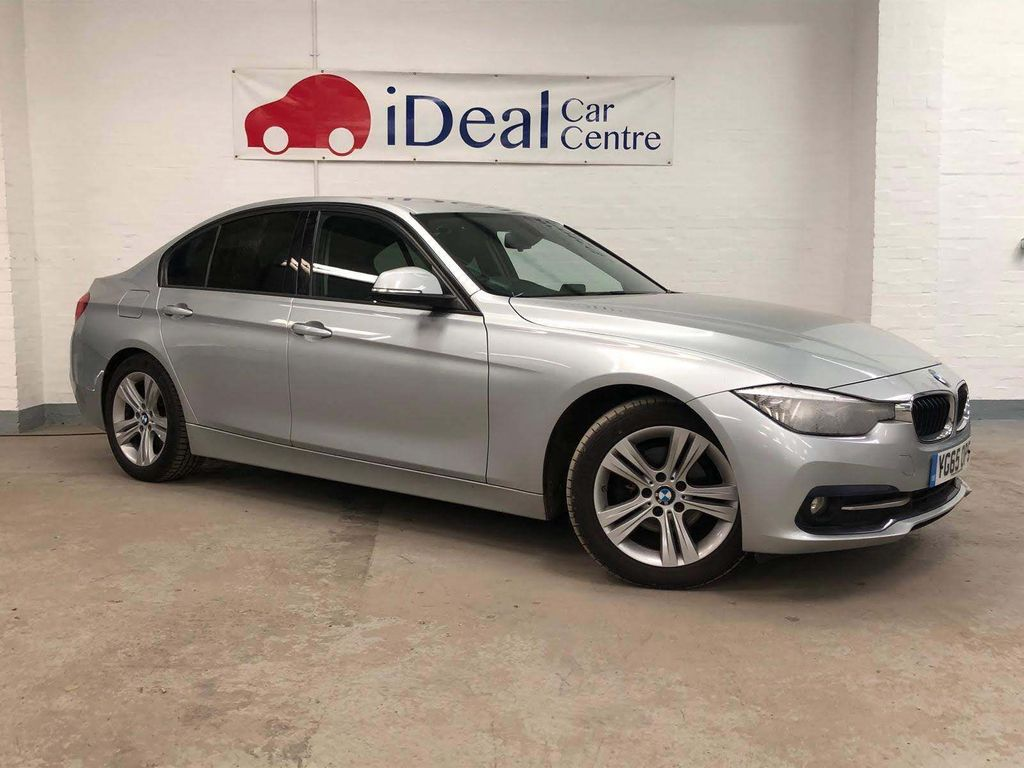 BMW 3 Series Saloon 2.0 320d BluePerformance ED Sport Auto (s/s) 4dr