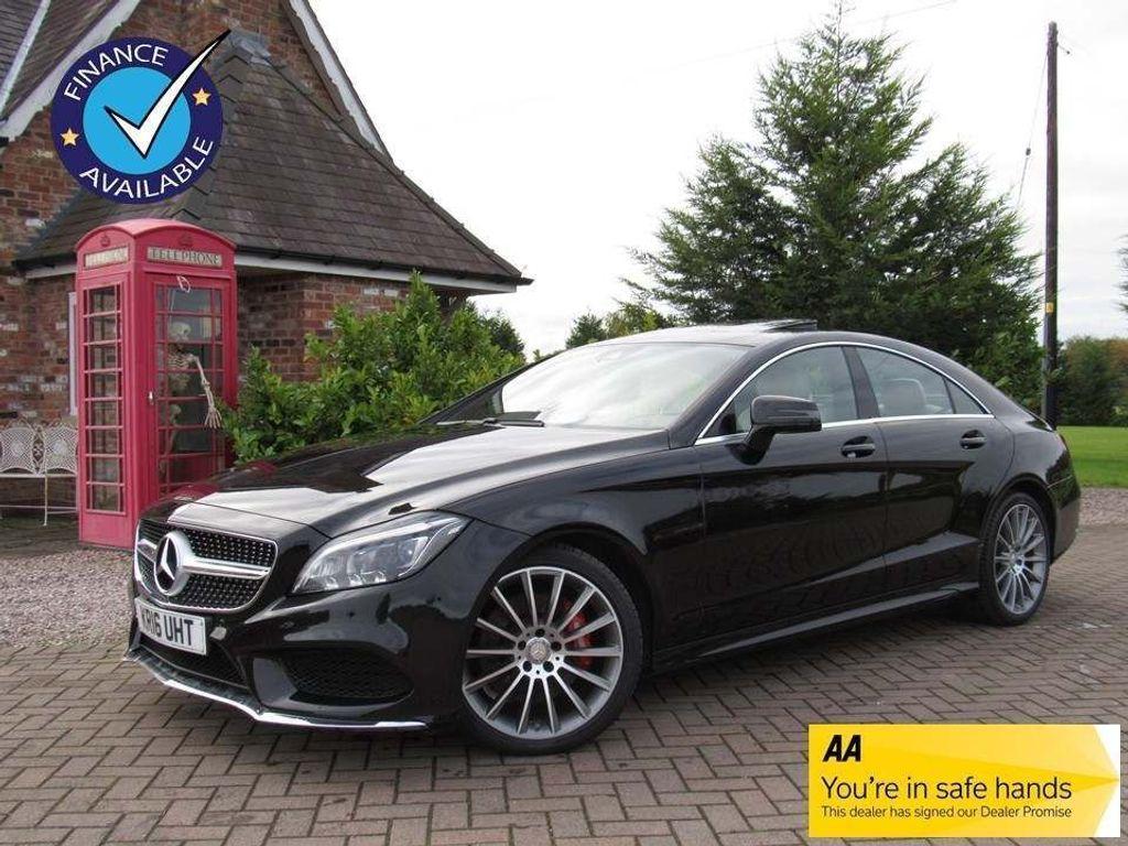 Mercedes-Benz CLS Coupe 3.0 CLS350d V6 AMG Line (Premium) G-Tronic+ (s/s) 4dr